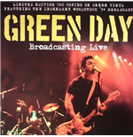 Vinil Green Day - Broadcasting Live Green Vinyl