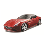 Maquete 1:24 Ferrari California T Closed Top Vermelha
