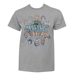 Camiseta Masters Of The Universe Faces Circle Logo