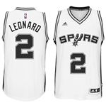 Camiseta San Antonio Spurs Kawhi Leonard adidas White New Swingman Home