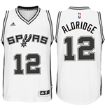 Camiseta Santo Antonio Spurs LaMarcus Aldridge adidas White New Swingman Home