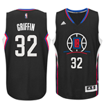 Camiseta Los Angeles Clippers Blake Griffin adidas Black New Swingman Alternate