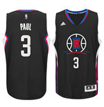 Camiseta Los Angeles Clippers Chris Paul adidas Black New Swingman Alternate