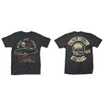 Camiseta Black Label Society Hell Riding Hot Rod