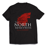 Camiseta Jogo do Poder Soberano (Game of Thrones) The North Remembers