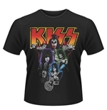 Camiseta Kiss Neon Band