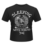 Camiseta Sleeping with Sirens Skeleton