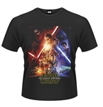 Camiseta Star Wars Force Awakens Poster