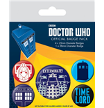 Broche Doctor Who 200377