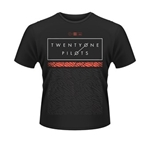 Camiseta Twenty One Pilots Scale Pattern Strip