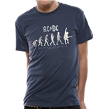 Camiseta AC/DC - Evolution Of Rock