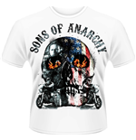 Camiseta Sons of Anarchy - Flame Skull