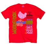 Camiseta Woodstock 203290