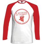 Camiseta manga longa 5 seconds of summer 204789