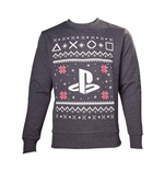 Moletom PlayStation - Black Logo Christmas