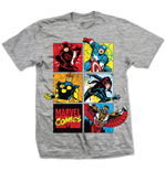 Camiseta Marvel Superheroes 206233