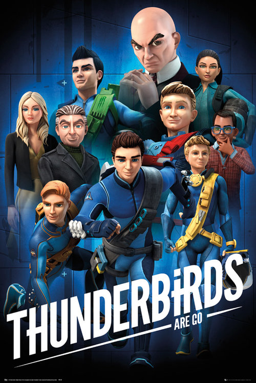 Poster Thunderbirds 208259
