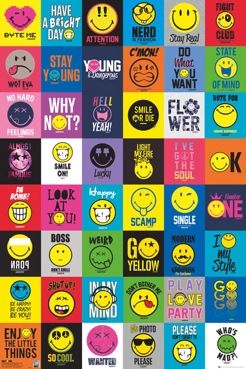 Poster Smiley 208265