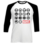 Camiseta Marvel Superheroes 210330