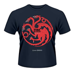 Camiseta Jogo de Poder Soberano (Game of Thrones) - Fire And Blood