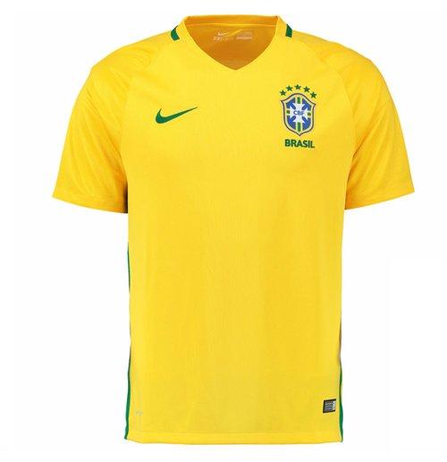Camiseta Brasil 2016-2017 Home Nike Original  Compra Online em Oferta 74e8dac3c99e9
