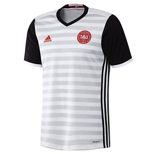 ddcae000aec3c Compra Camiseta Dinamarca futebol 2016-2017 Away Original