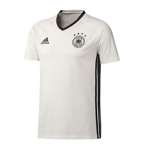 Compra Camiseta Alemanha 2016-2017 Adidas Players (branca) - de criança c504bbcb40a6b