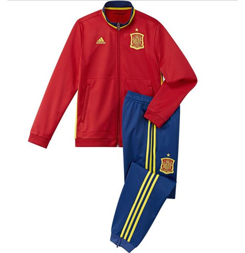 Compra Conjunto esportivo Espanha Futebol 2016-2017 (Vermelho) 662e78d591d31
