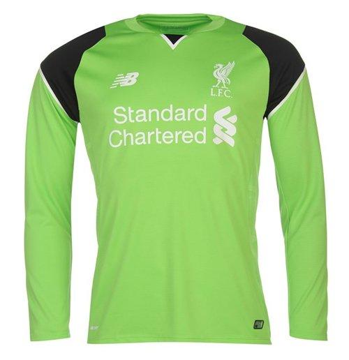 Compra Camiseta Goleiro Liverpool Fc 2016 2017 Home Verde