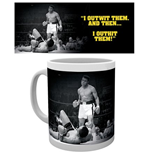 Caneca Muhammad Ali - Outwit Outhit