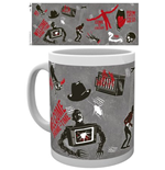 Caneca Nightmare On Elm Street 212746