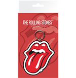 Chaveiro de borracha The Rolling Stones - Lips