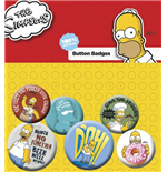 Pack Broches Os Simpsons - Homer