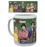 Caneca Big Bang Theory - Cast