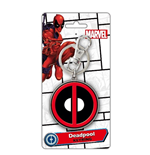 Chaveiro Deadpool - Logo Colour Pewter