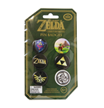 Legend of Zelda Pack de 6 Chapas