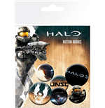 Set Chapinhas Halo 5 - Mix