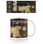 Caneca Jogo do Poder Soberano (Game of Thrones) - Map