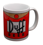 Caneca Os Simpsons - Duff Beer