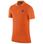 Polo Holanda 2016-2017 Nike Authentic GS Slim (Laranja)