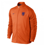 Jaqueta Holanda 2016-2017 Nike Authentic N98  (Laranja)