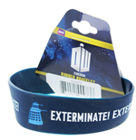 Pulseira de borracha Doctor Who - Exterminate