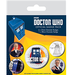 Broche Doctor Who 218408