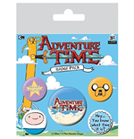 Pack Broches Hora de aventuras - Hey, Do You Know What Time It Is?