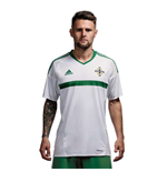 Camiseta Irlanda do Norte 2016-2017 Adidas Away