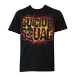 Camiseta Suicide Squad Movie Logo