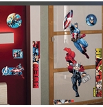 Vinil decorativo para parede The Avengers 218905