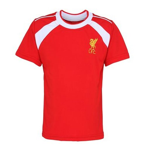 Compra Camiseta Treinamento Liverpool Fc Vermelho Original