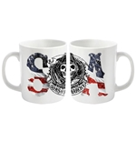 Caneca Sons of Anarchy Usa Logo