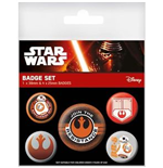 Pack Broche Star Wars Episode VII - Resistance
